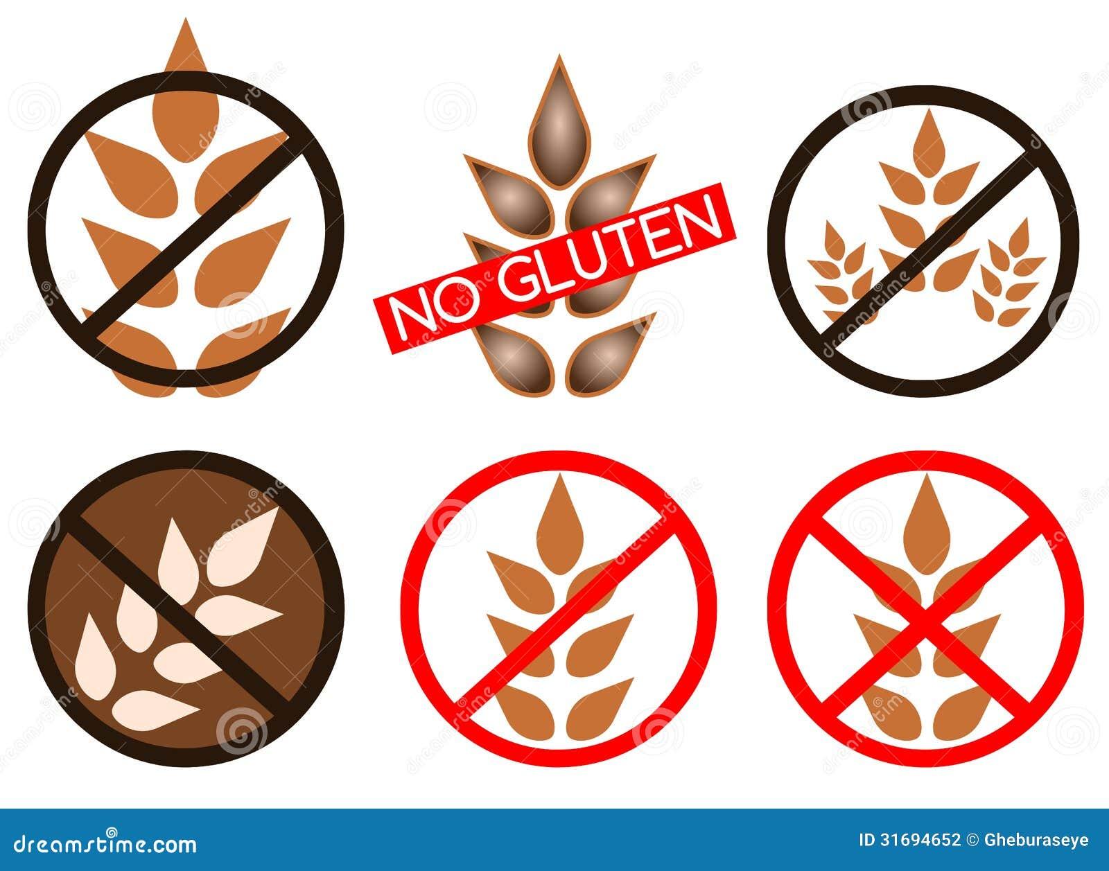 El gluten libera iconos