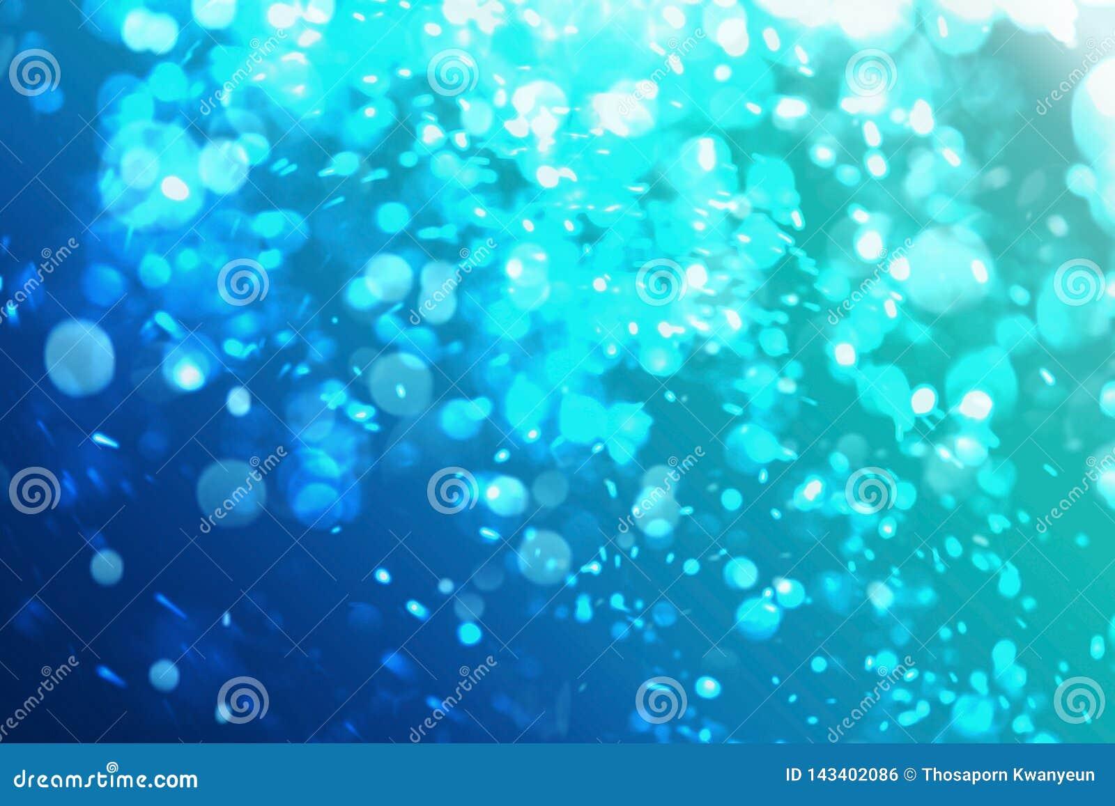 El Gráfico Del Océano Azul O La Piscina Con La Burbuja De