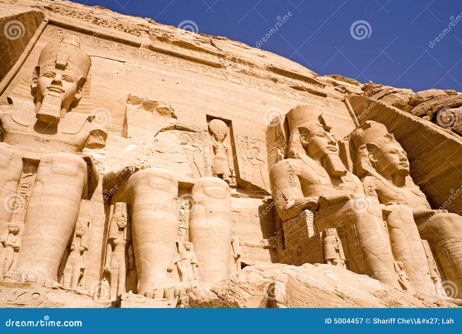 El gran templo de Abu Simbel