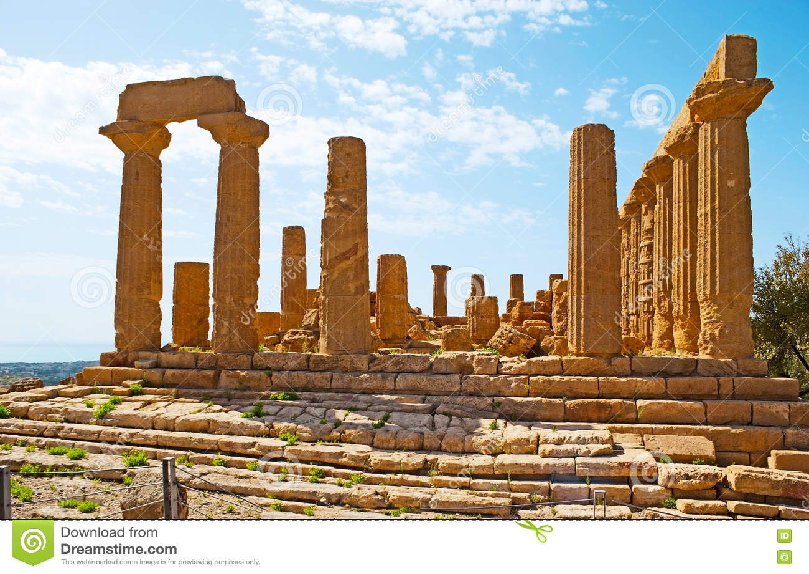 El gran templo de Juno