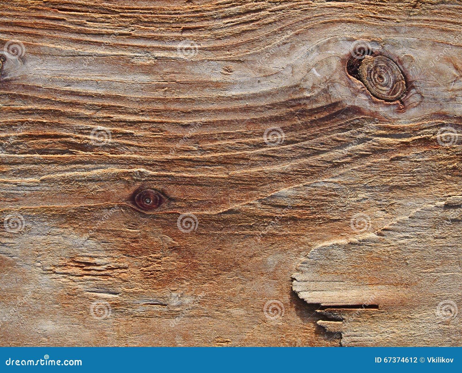 El grano erosionó el fondo de madera, textura de madera áspera, PA de la madera de deriva