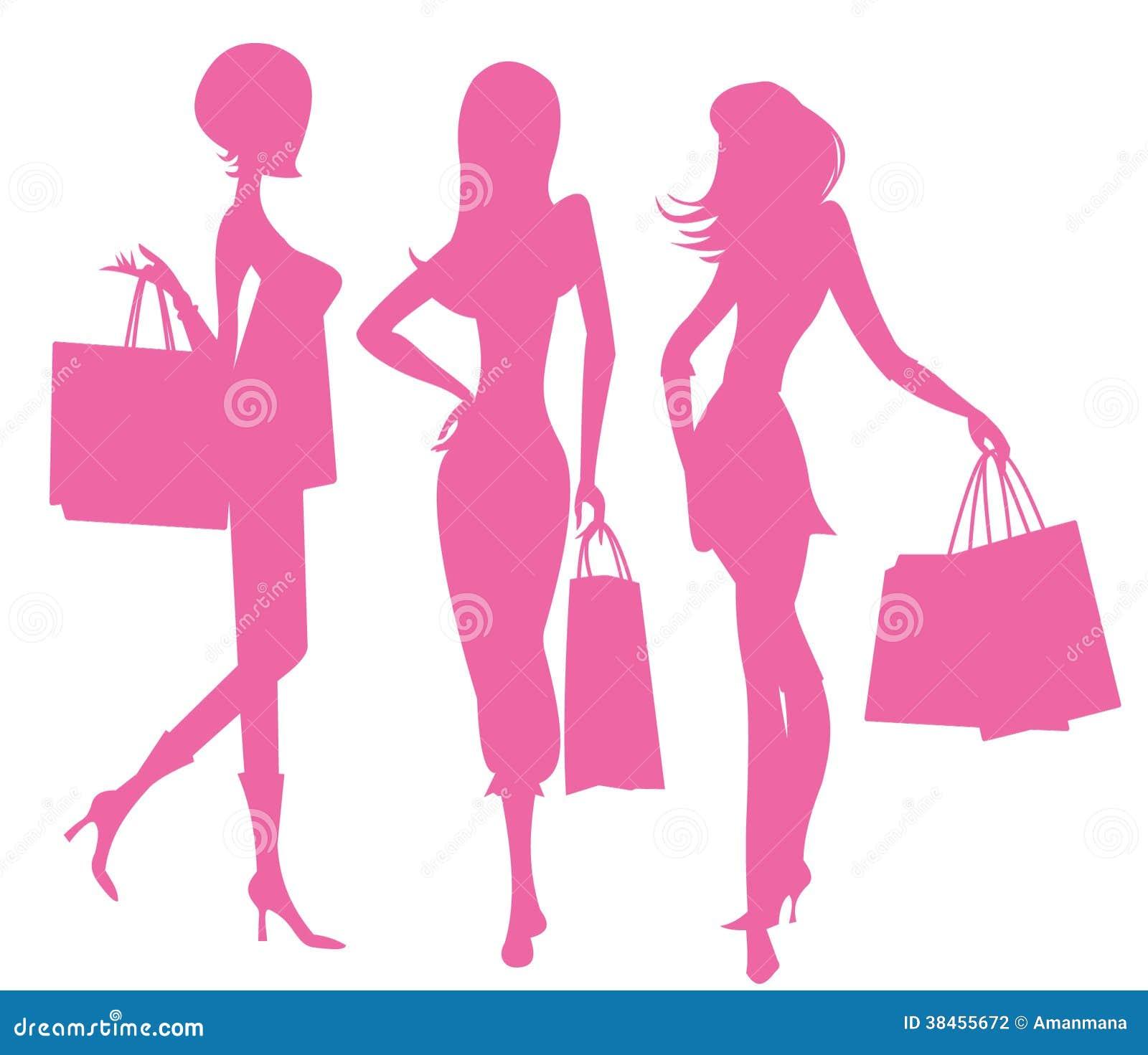 El hacer compras de las mujeres