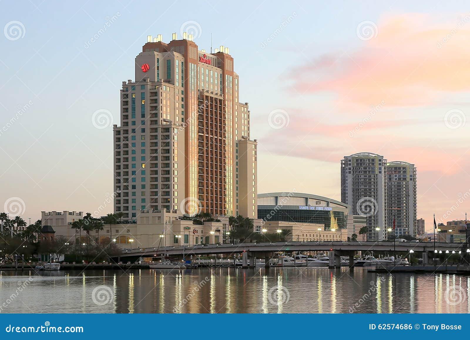 El hotel de Marriott en Tampa