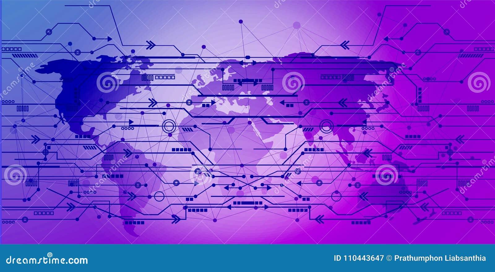 El icono de las conexiones de red global señala y alinea con estafa social