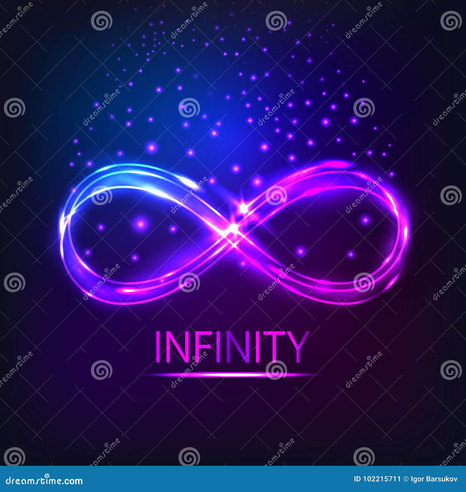 El infinito brillante