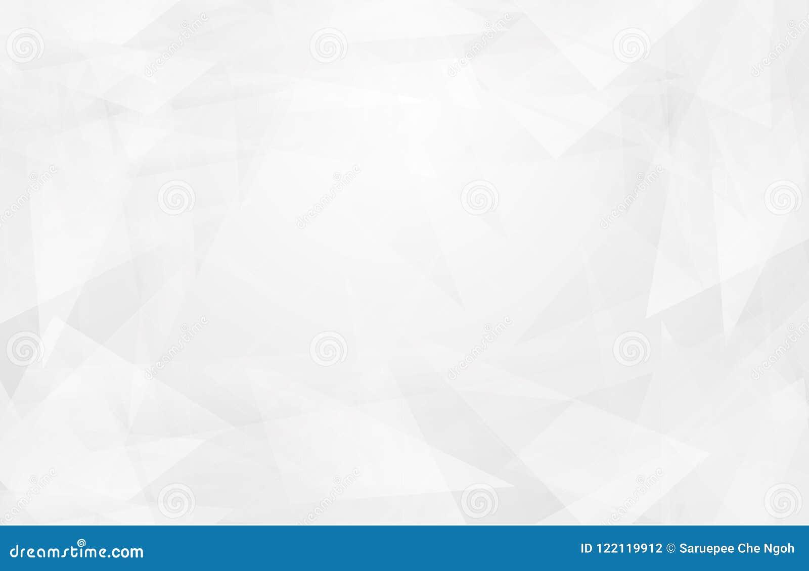El interior blanco abstracto destaca futuro fondo gris, fondo de Lowpoly con el copia-espacio Backgro moderno del polígono del Li