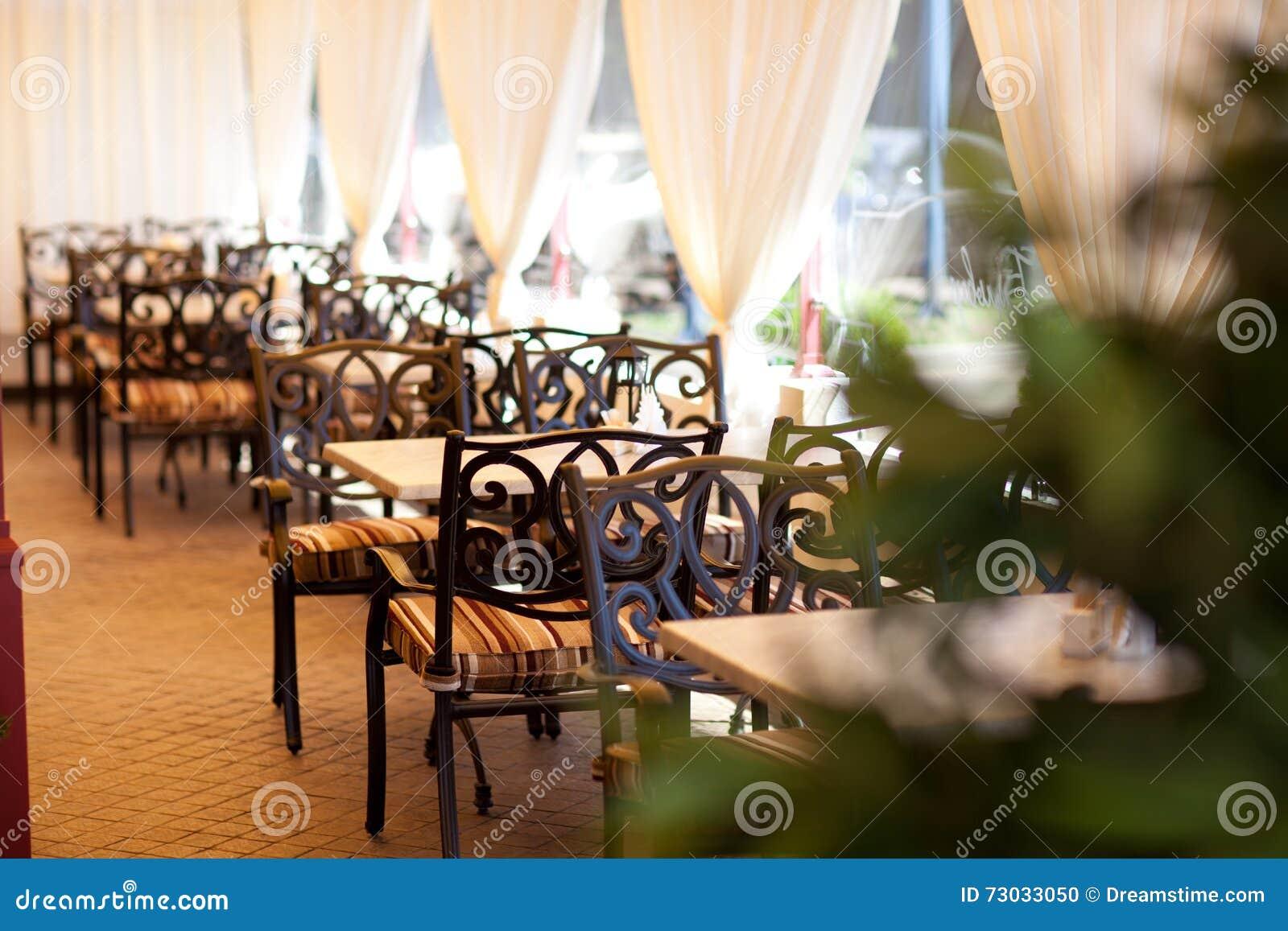 El interior del restaurante