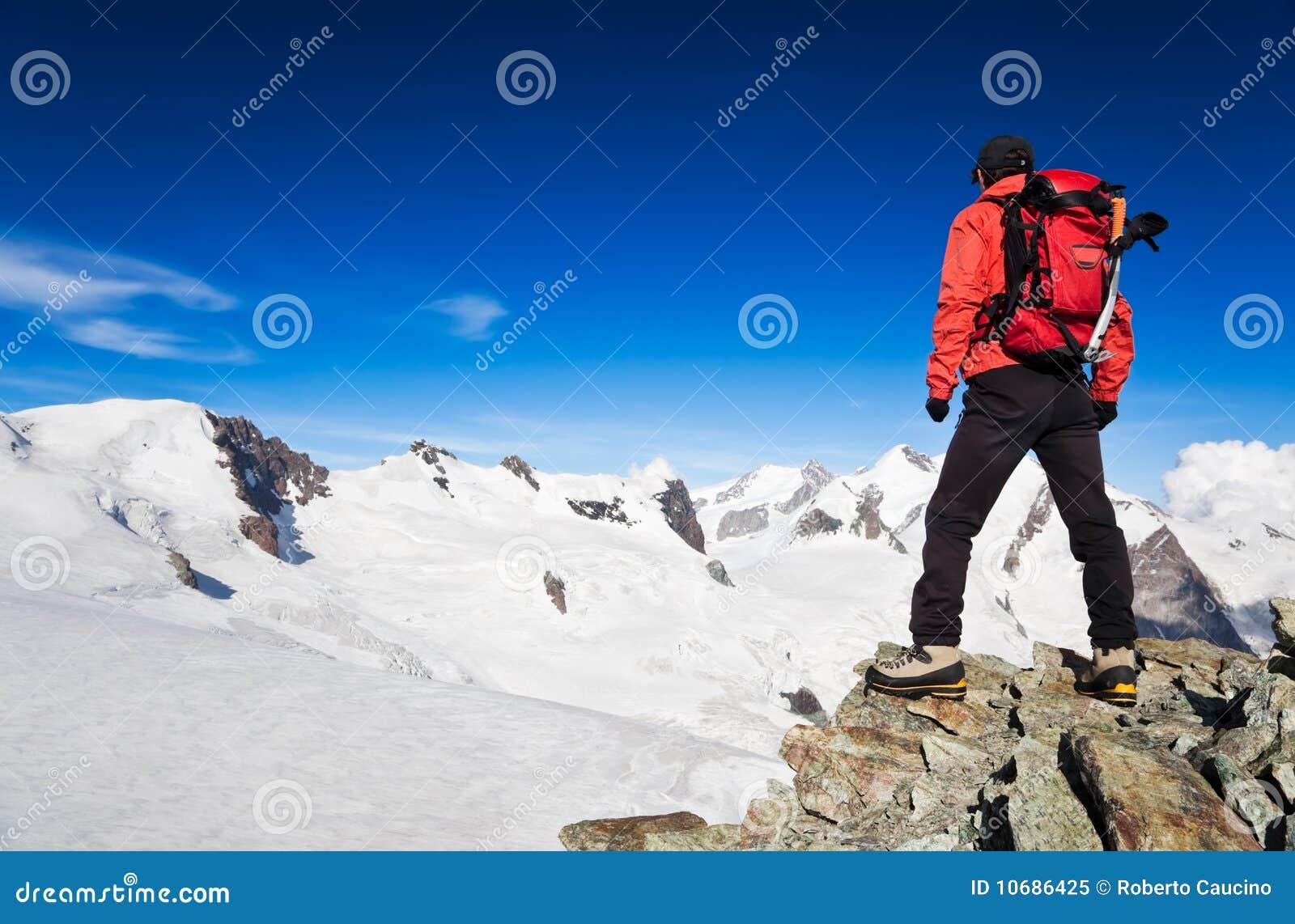 El ir de excursión de la alta altitud