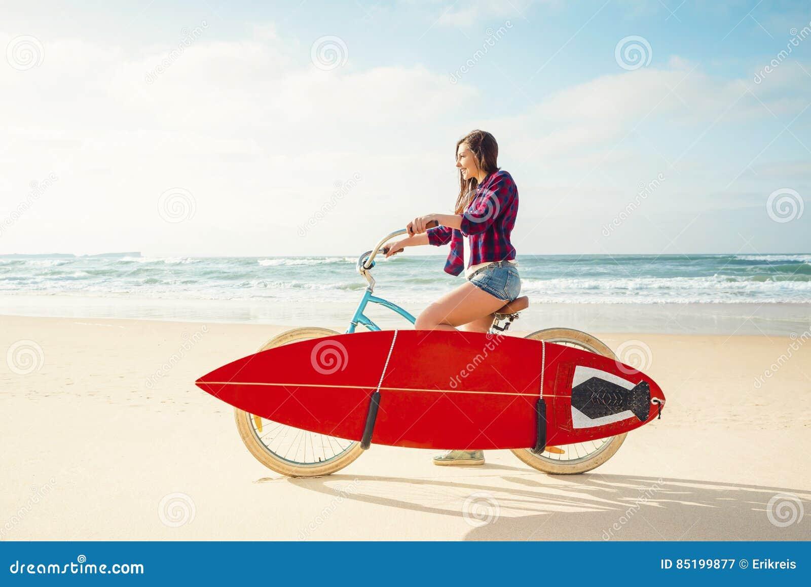 El ir a practicar surf
