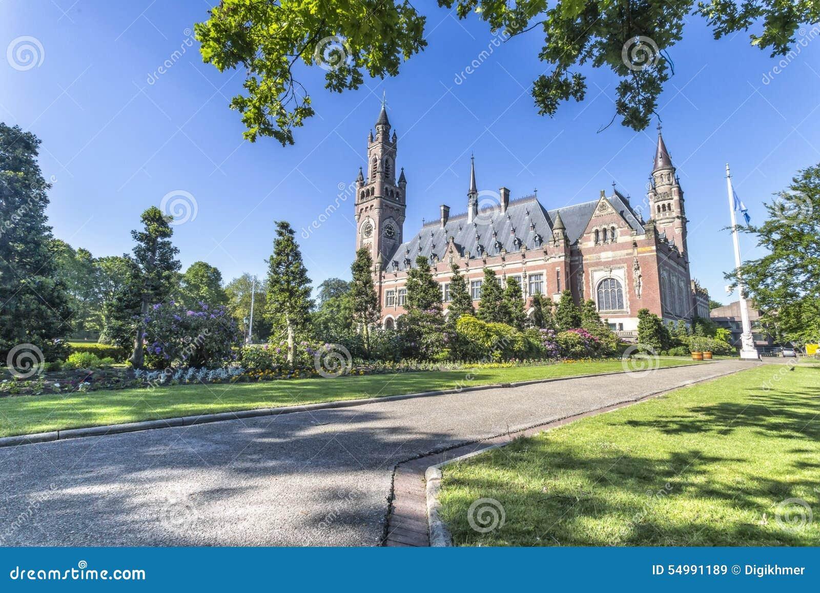 El jardín del palacio de la paz
