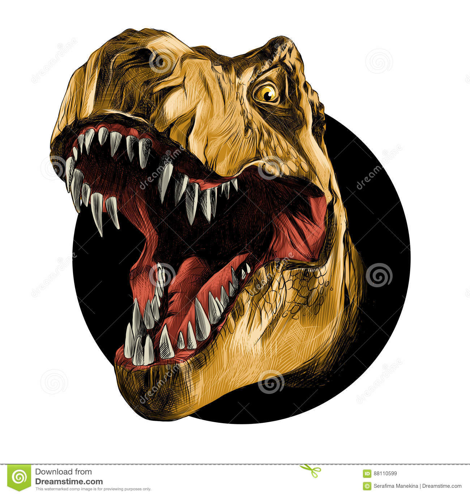 El jefe del tiranosaurio