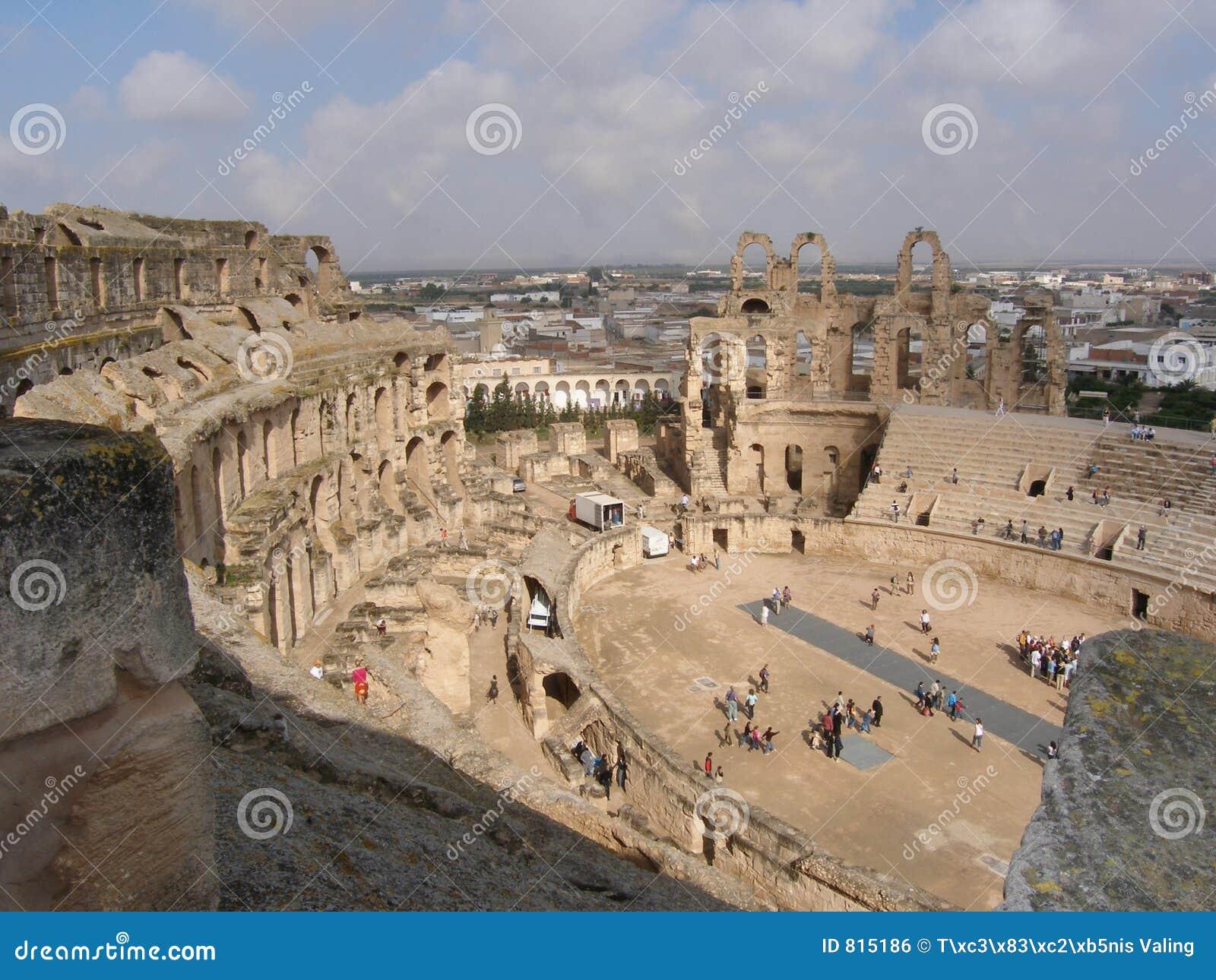 El -Jem`s Amphitheatre