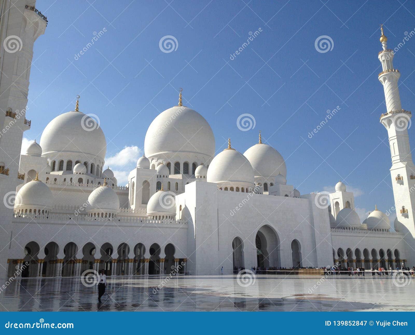 El jeque Zayed Grand Mosque