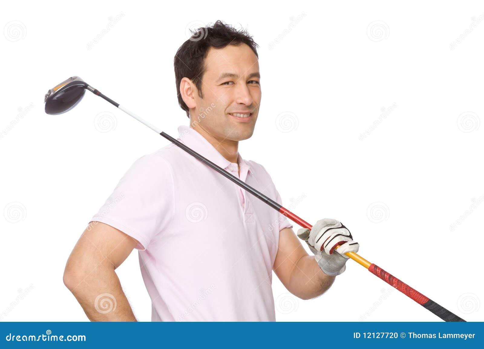 El jugador de golf