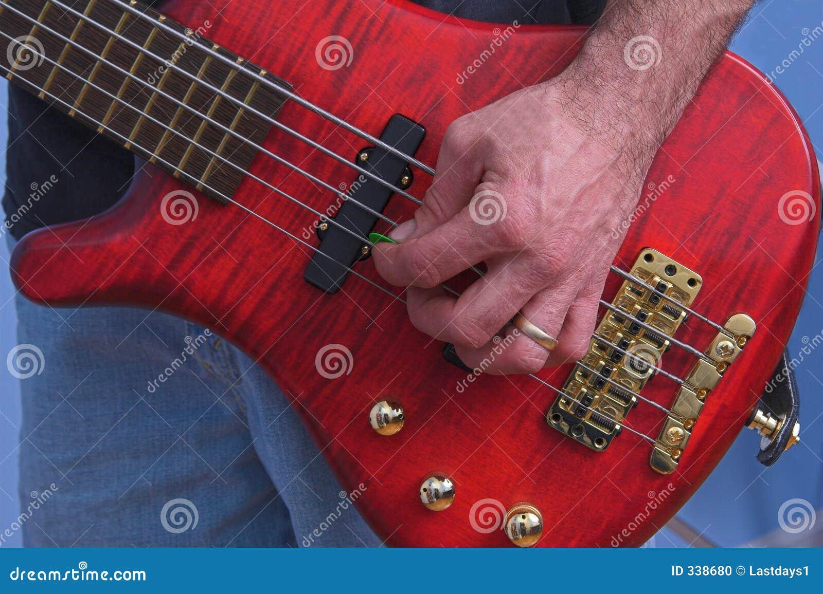 El jugar de la guitarra