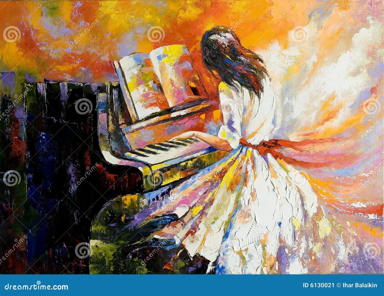 El jugar en el piano