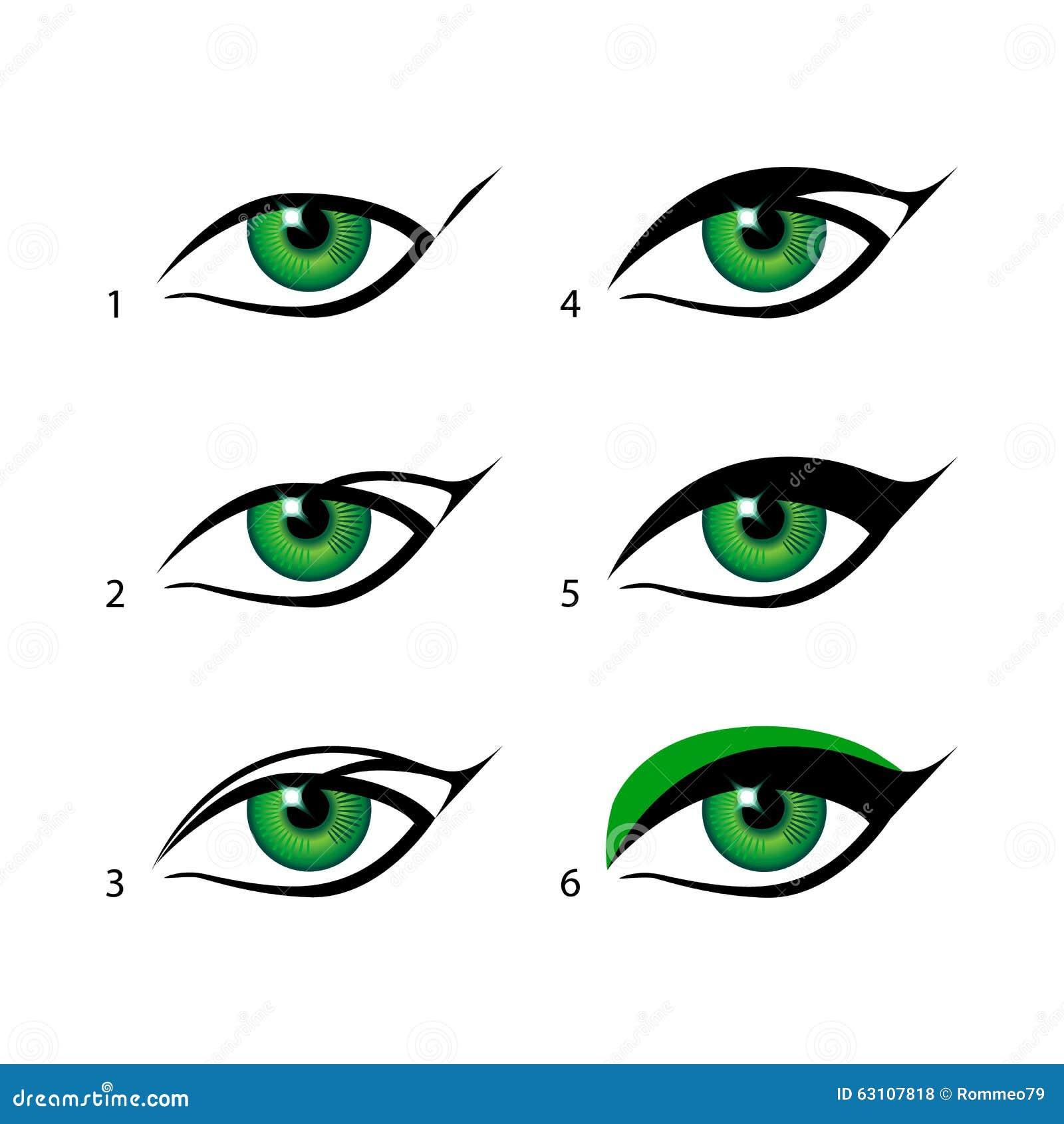 arte maquillaje with maquillar ojos facil