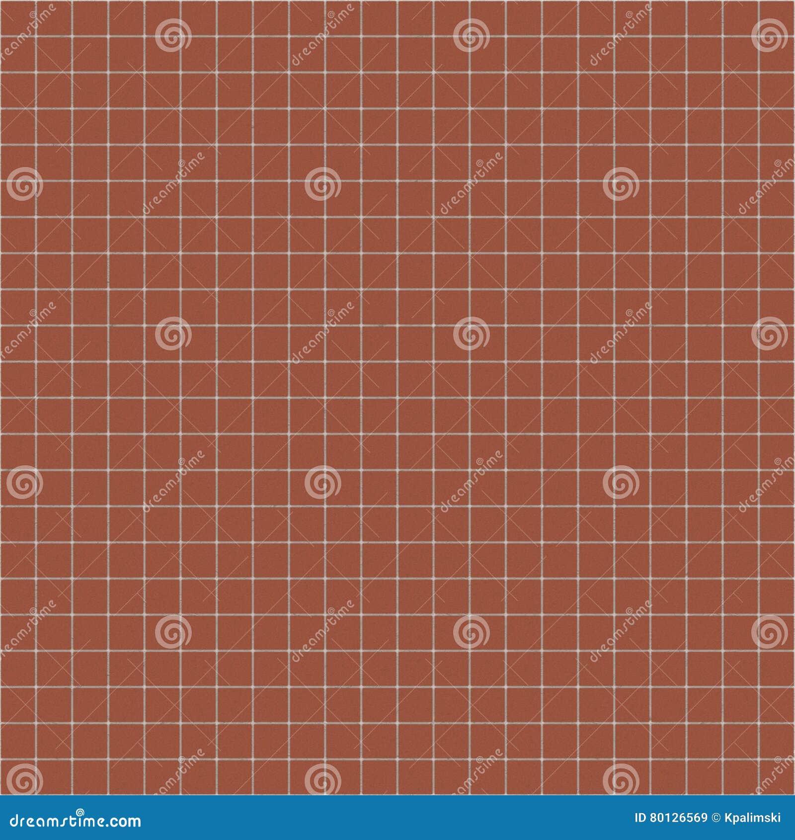 el ladrillo rojo teja el pavimento