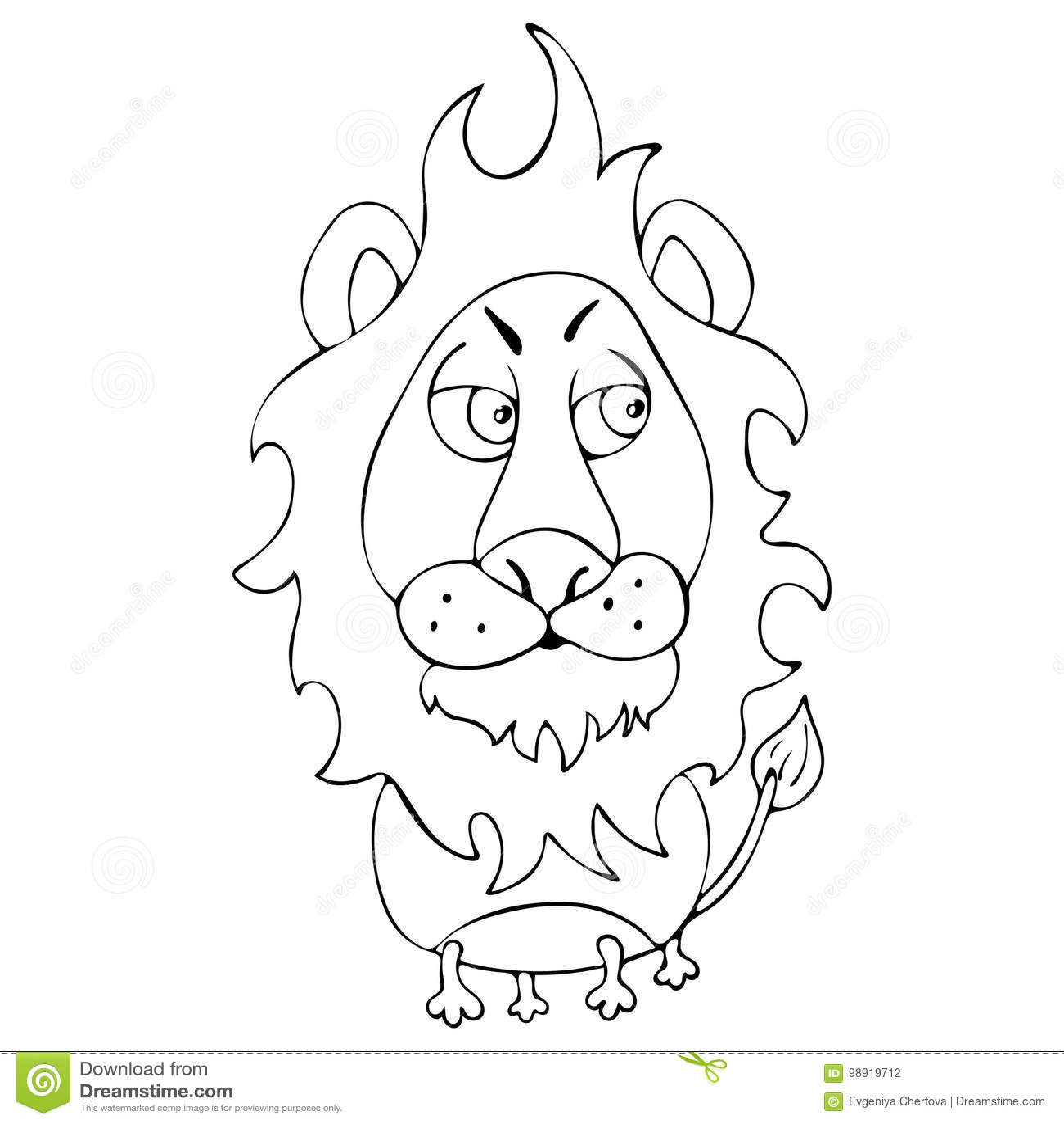 Asombroso Colorear Animales Realista León Cresta - Dibujos Para ...