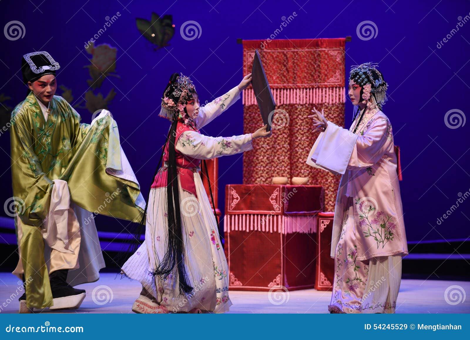 """El ligar -  del oeste de Chamber†del """"the de la ópera de Kunqu"""