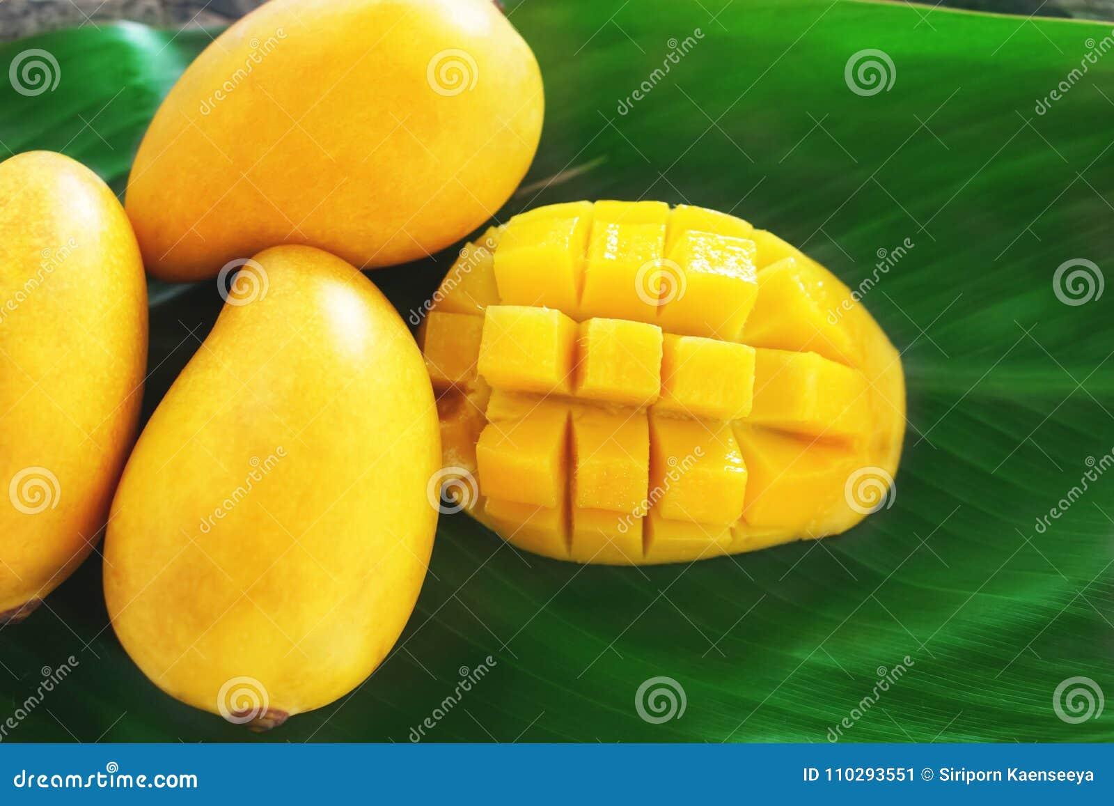 Dieta del mango maduro