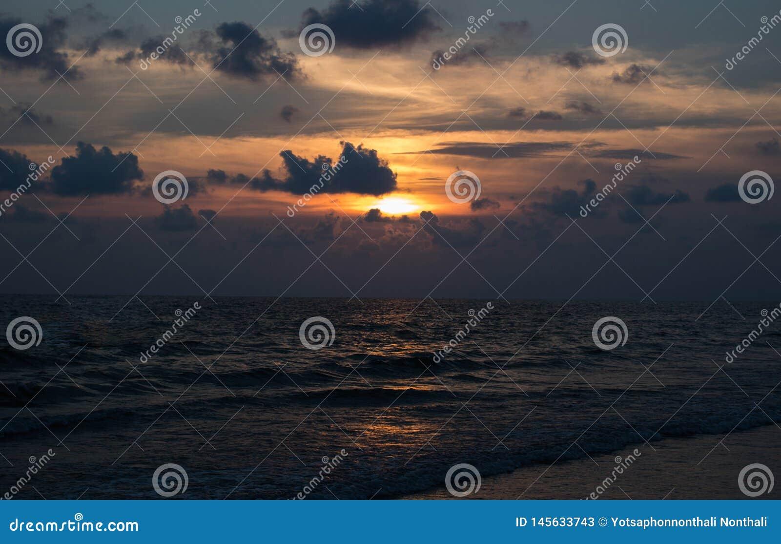 El mar Tailandia