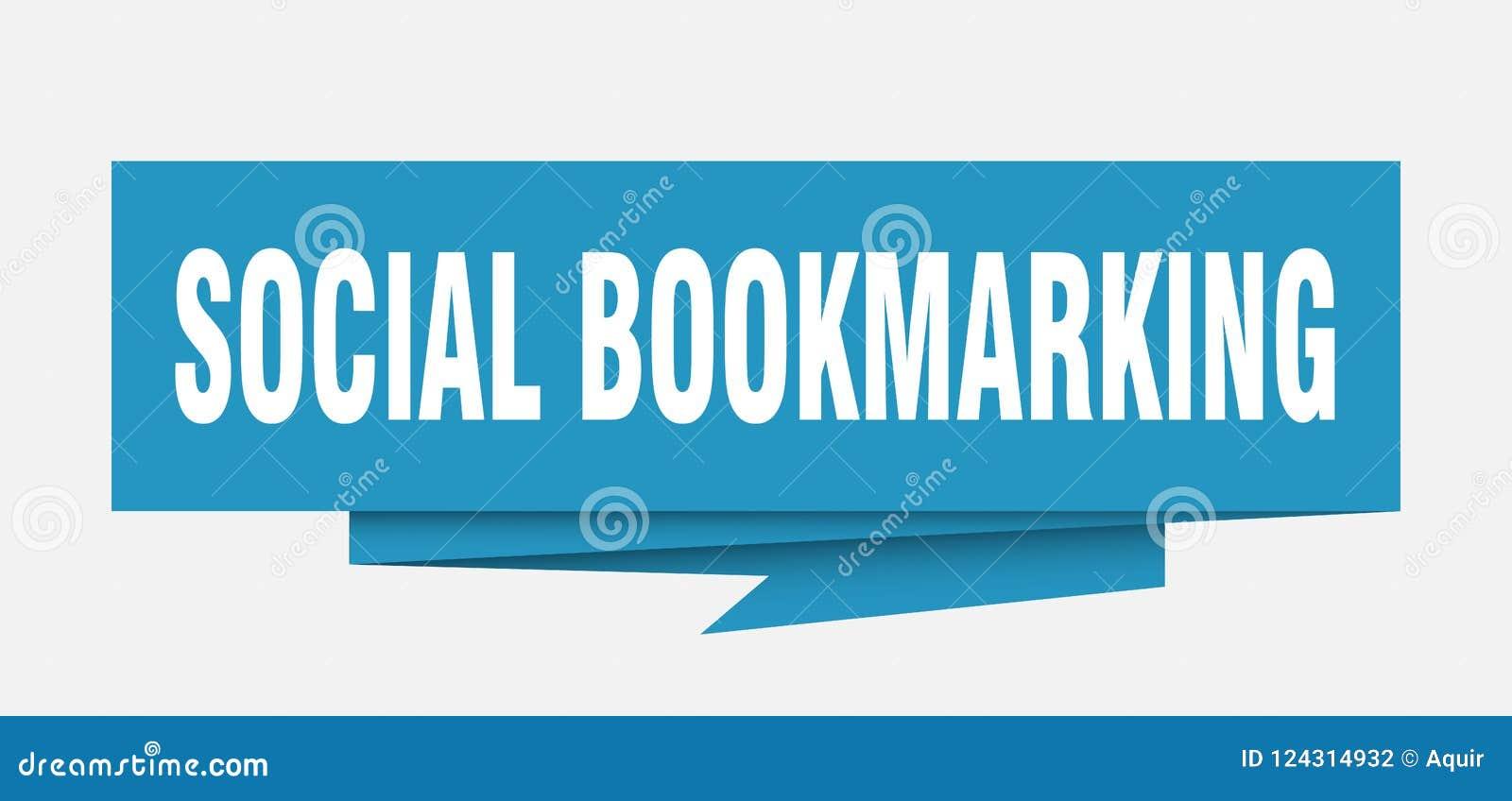 El marcar una dirección de la Internet social