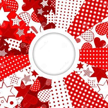 -marco-abstracto-con-las-estrellas-y-los-corazones-modeló-el-fondo-y ...