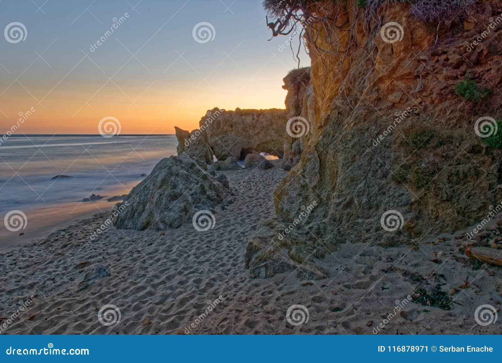El-matador State Beach i Malibu