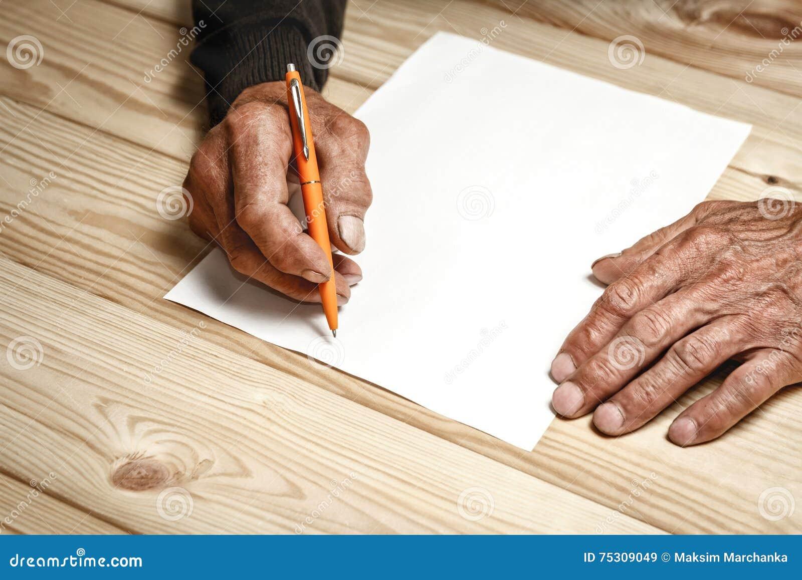 El mayor escribe un testamento