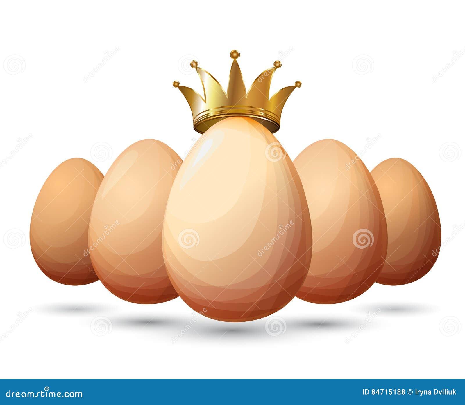 El Mejor Diseño Del Huevo Del Pollo Ilustración del Vector ...