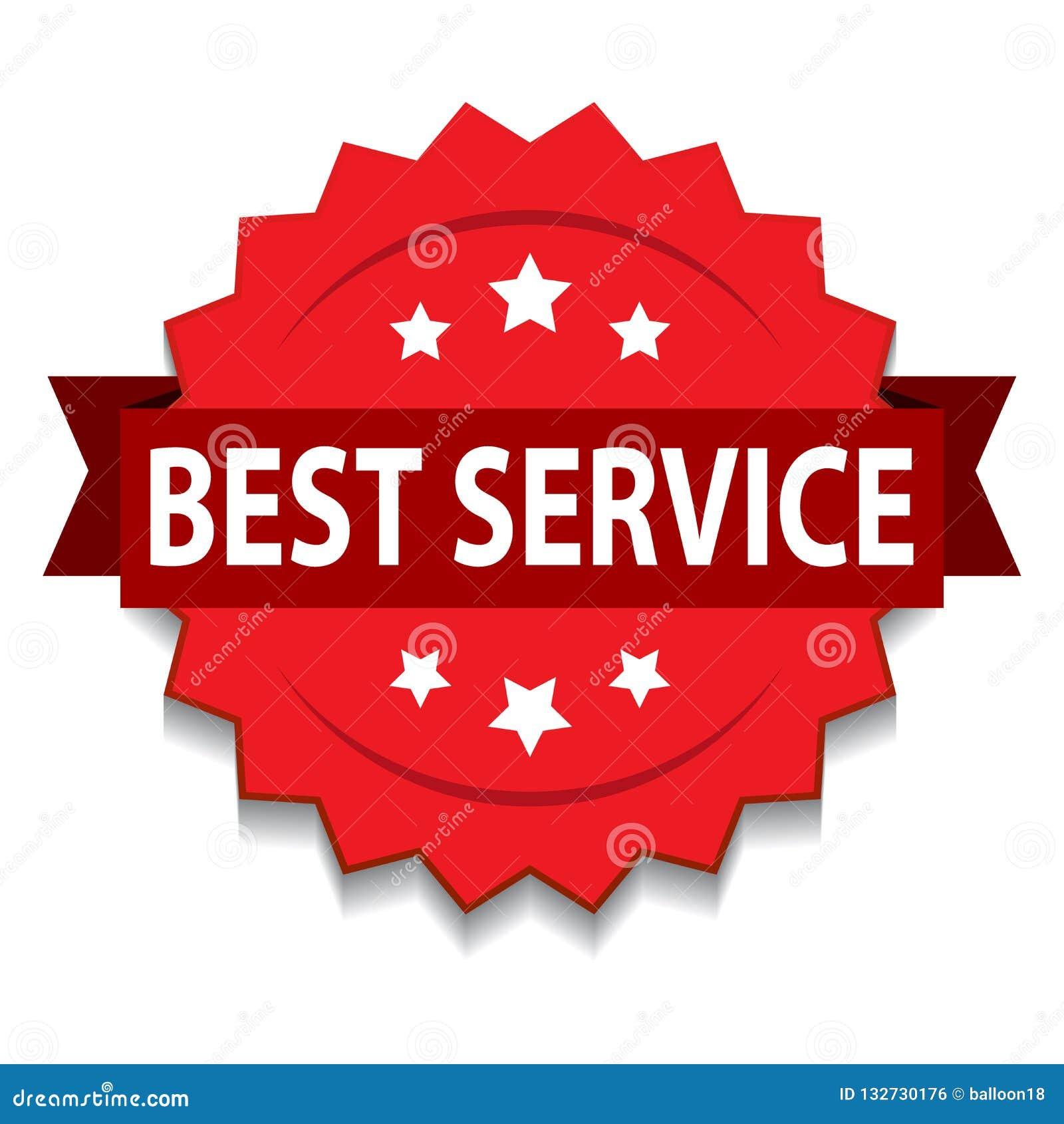 El mejor sello del servicio