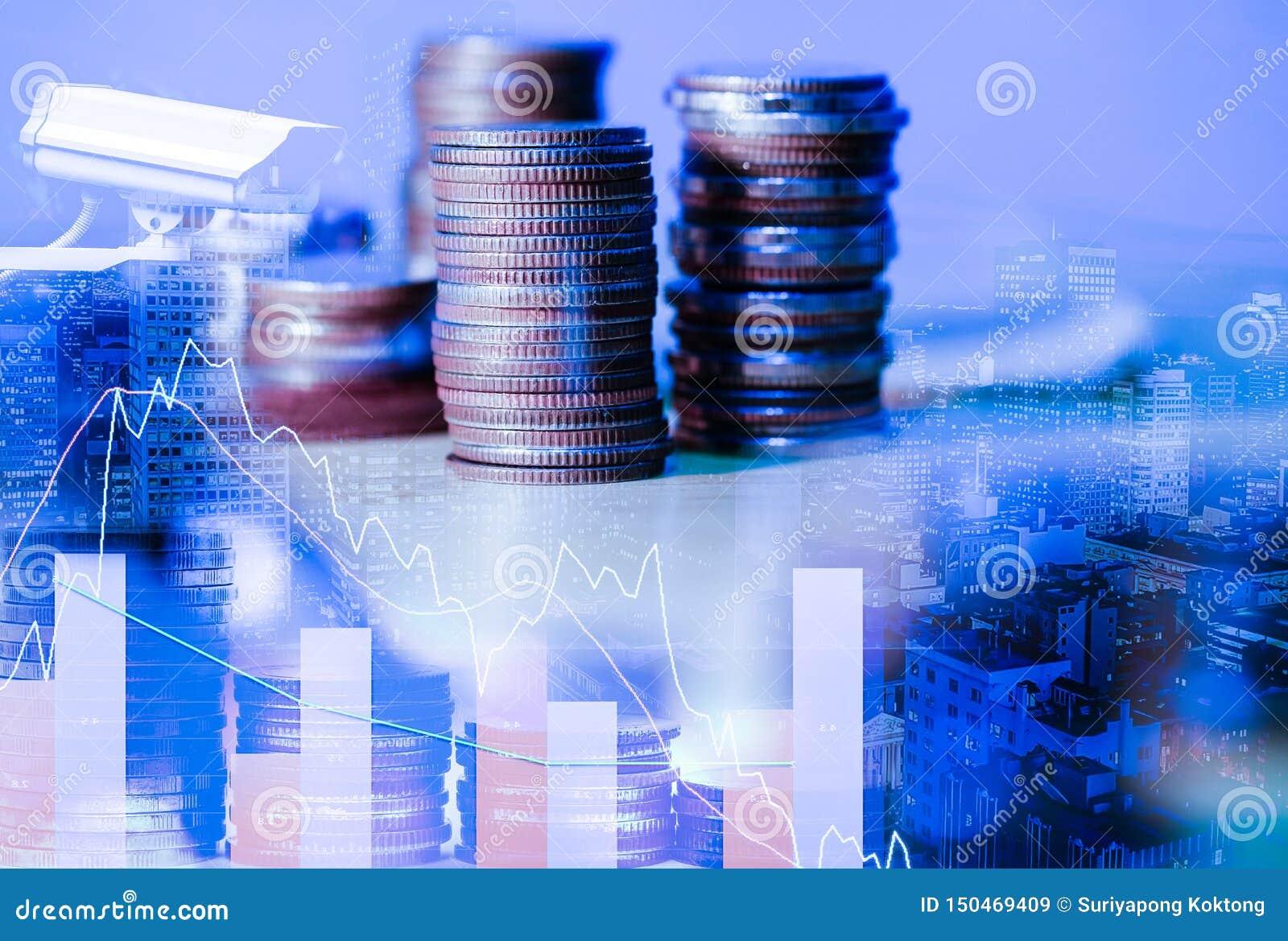 El mercado de acci?n o el gr?fico y la palmatoria comerciales de las divisas trazan conveniente para el concepto de la inversi?n