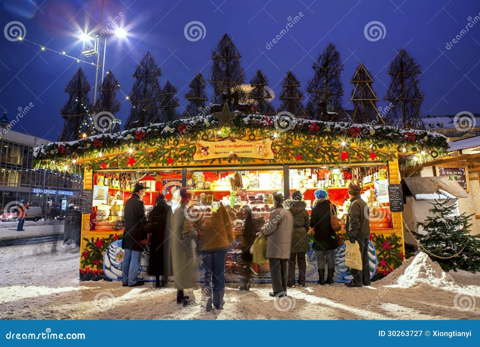 Mercado de la Navidad en Dresden