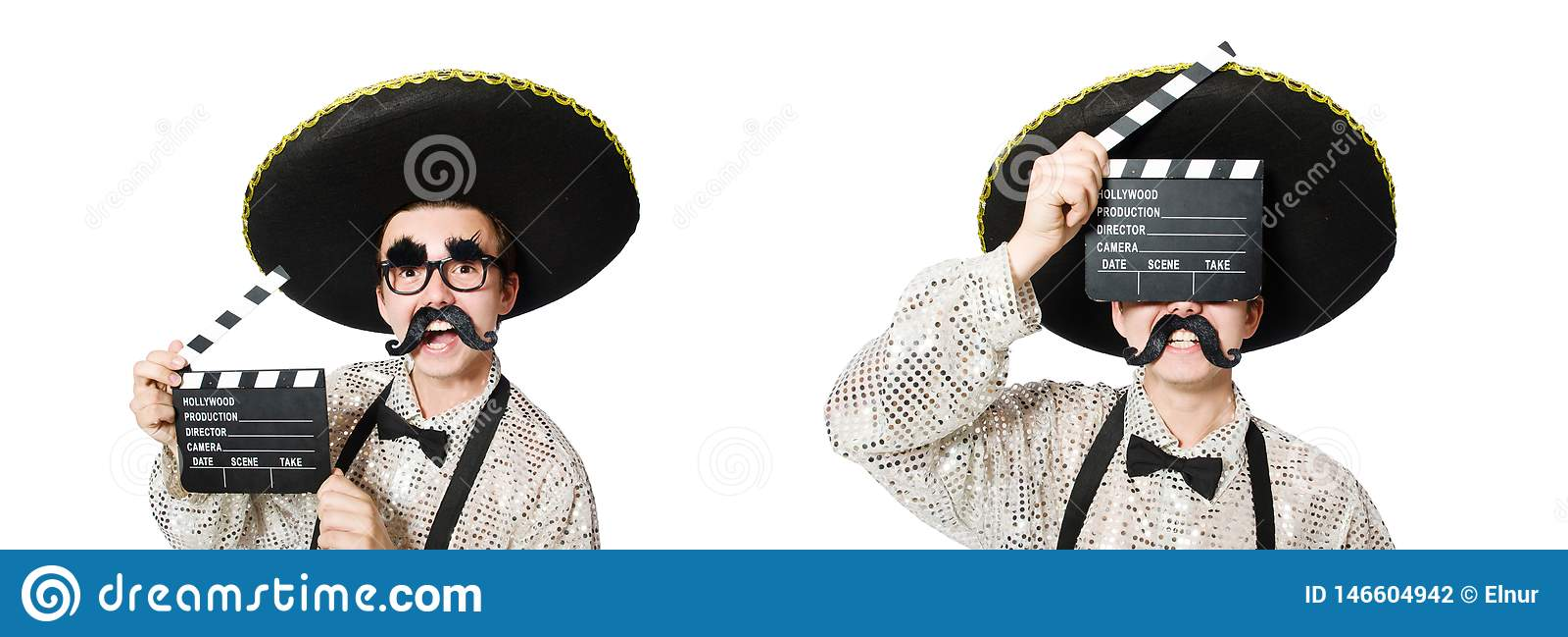 El mexicano divertido con el tablero de la pel?cula