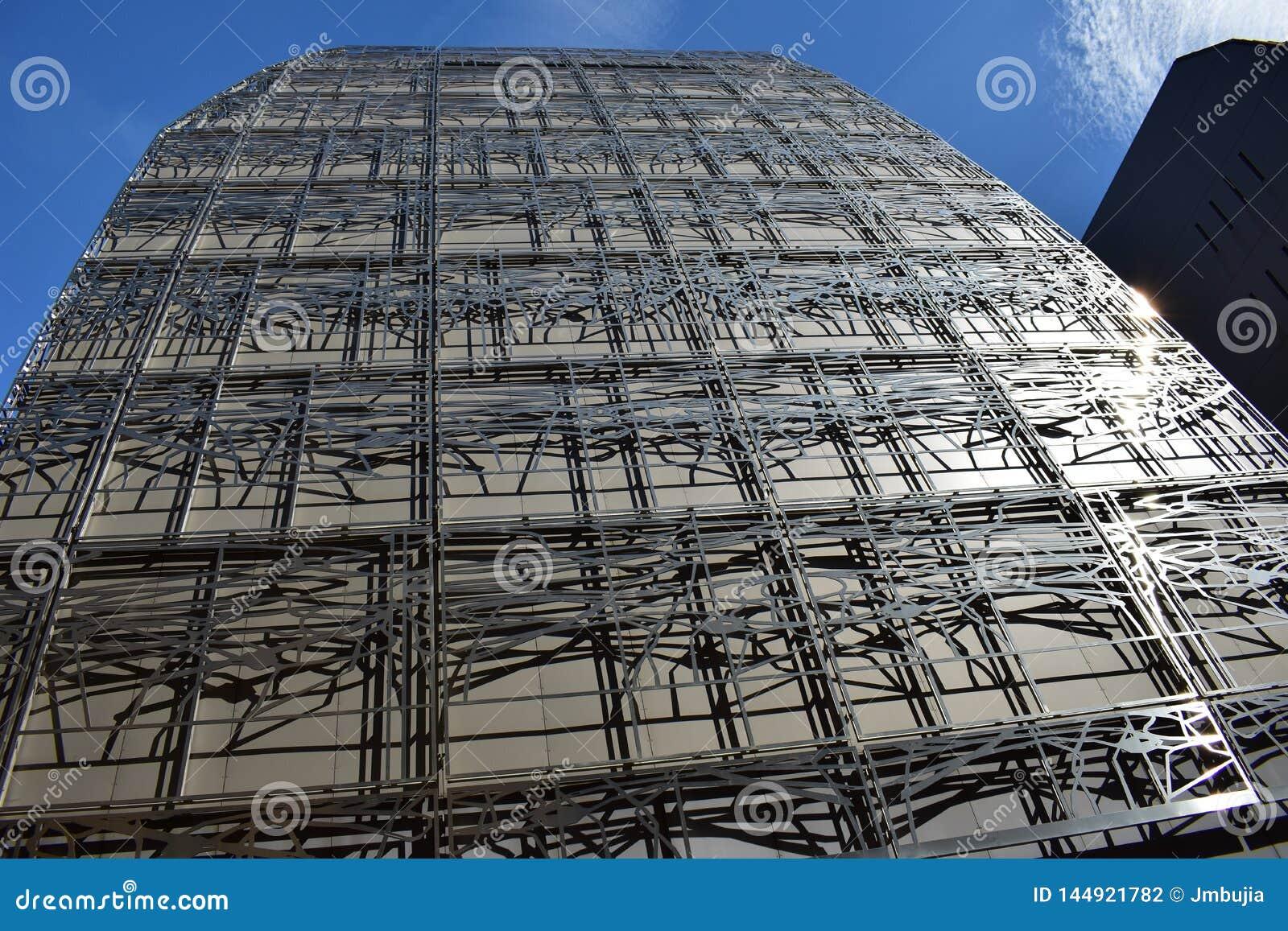 El ministerio de la cultura y de la comunicaci?n, primer de la fachada Par?s, Francia, el 12 de agosto de 2018