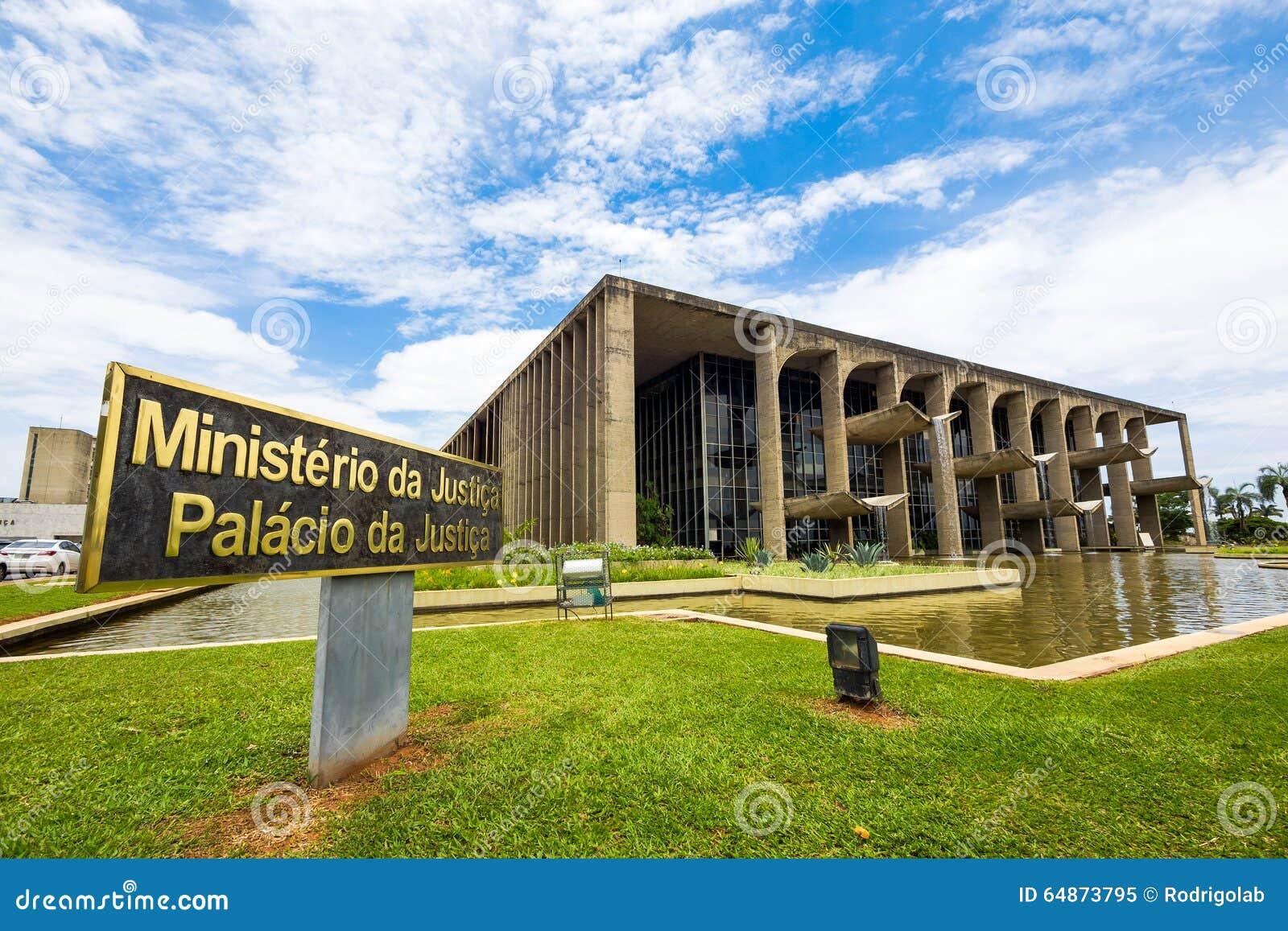 El ministerio de la justicia building en brasilia el - Arquitecto de brasilia ...