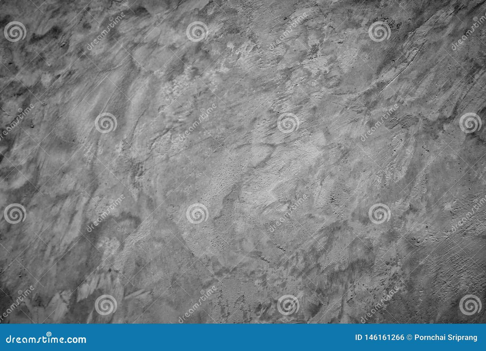 El modelo gris del fondo de la pared del cemento se puede utilizar para diseñar como papel pintado