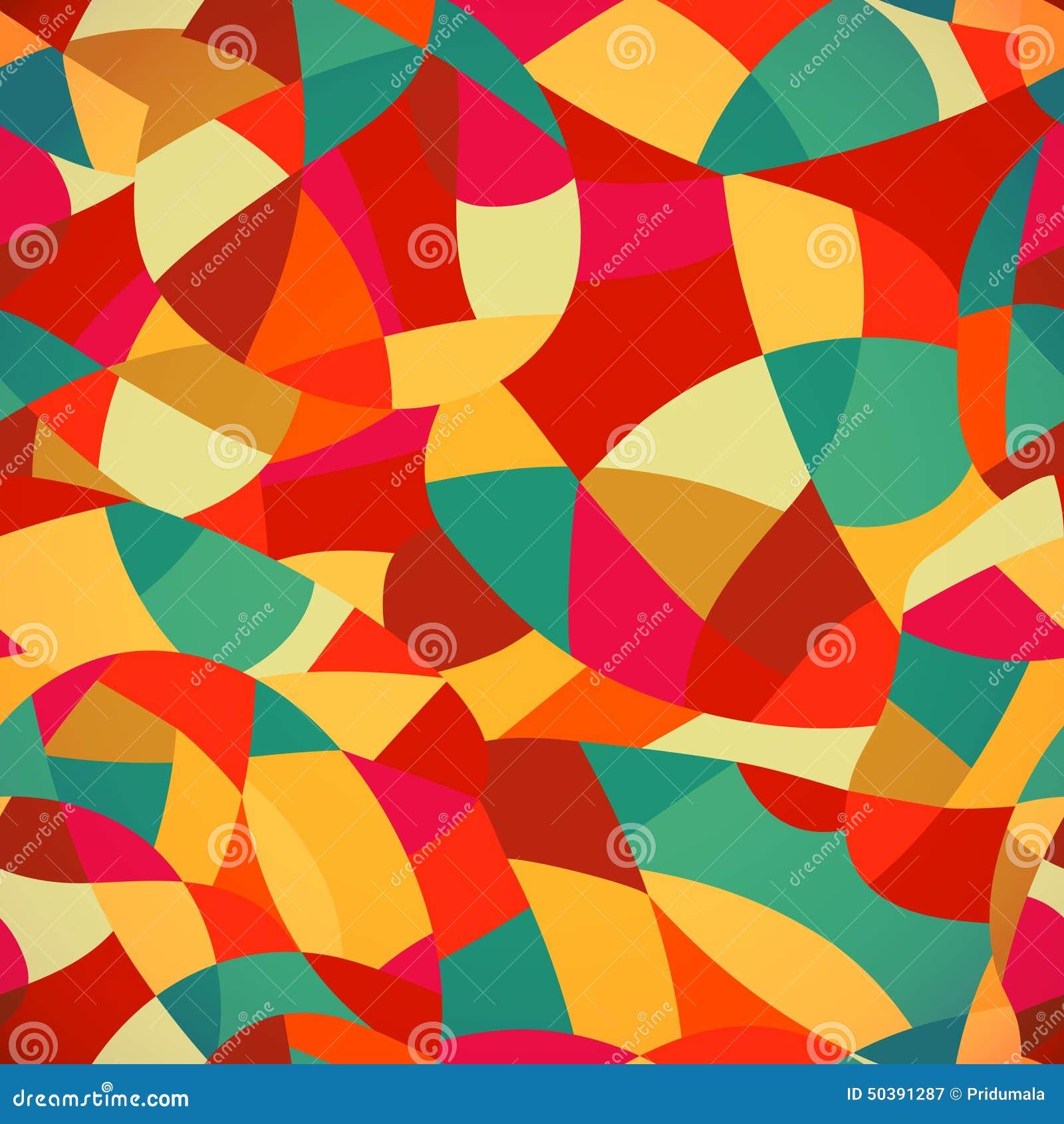 El modelo incons til del mosaico brillante de los colores ejemplo del vector mira ilustraci n - Mosaico de colores ...