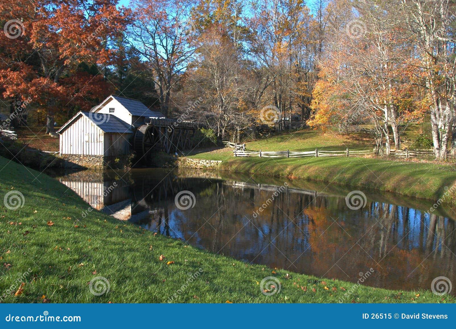 Download El molino imagen de archivo. Imagen de virginia, caída, árboles - 26515