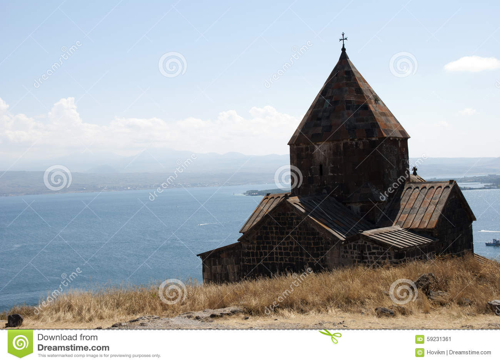 Download El Monasterio De La Isla O La Isla Y El Sevanavank De Sevan Imagen de archivo - Imagen de cielo, d0: 59231361