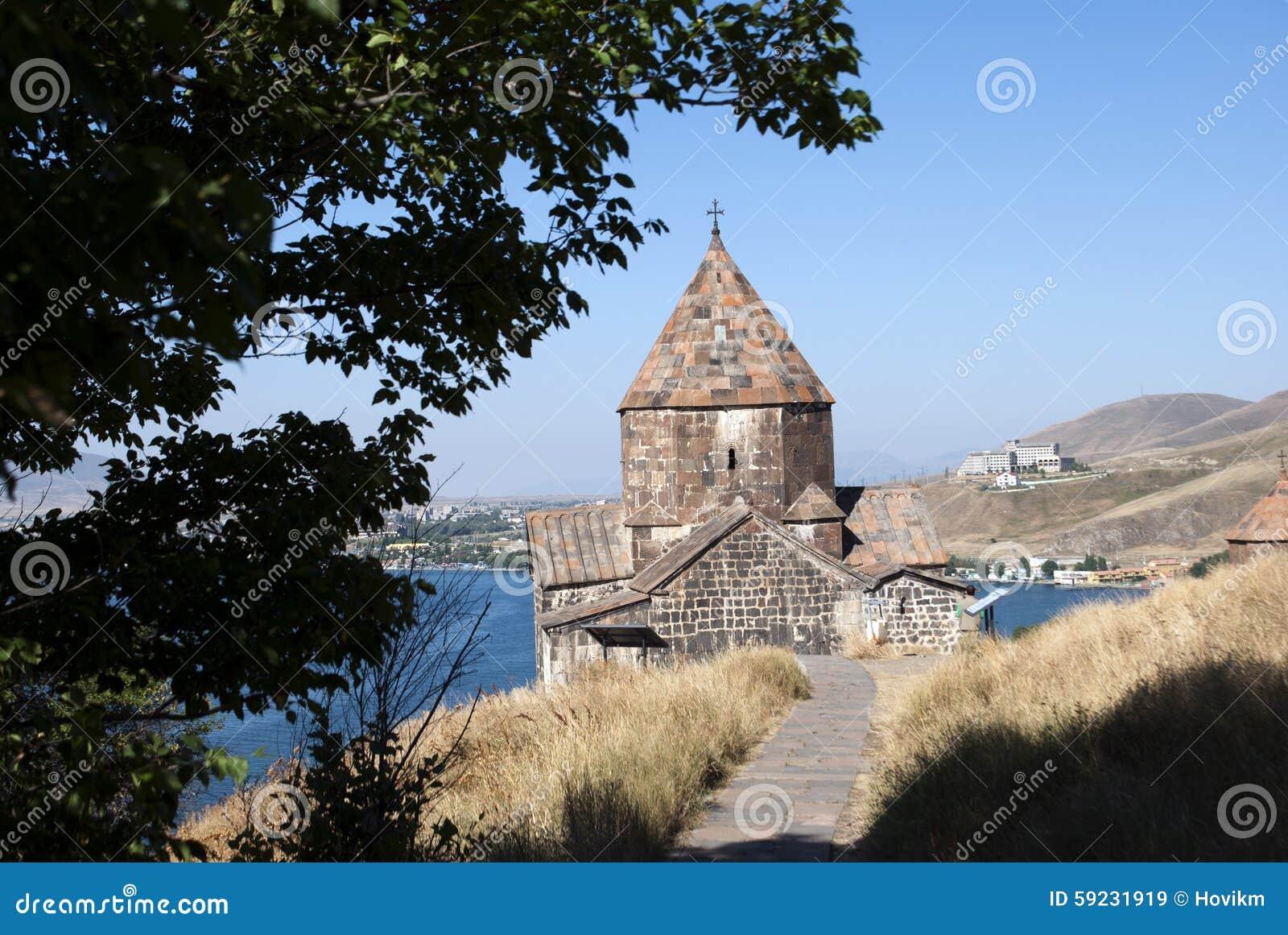 Download El Monasterio O El Sevanavank (iglesia) De La Isla En La Isla De Sevan, Armenia Imagen de archivo - Imagen de hija, permanezca: 59231919