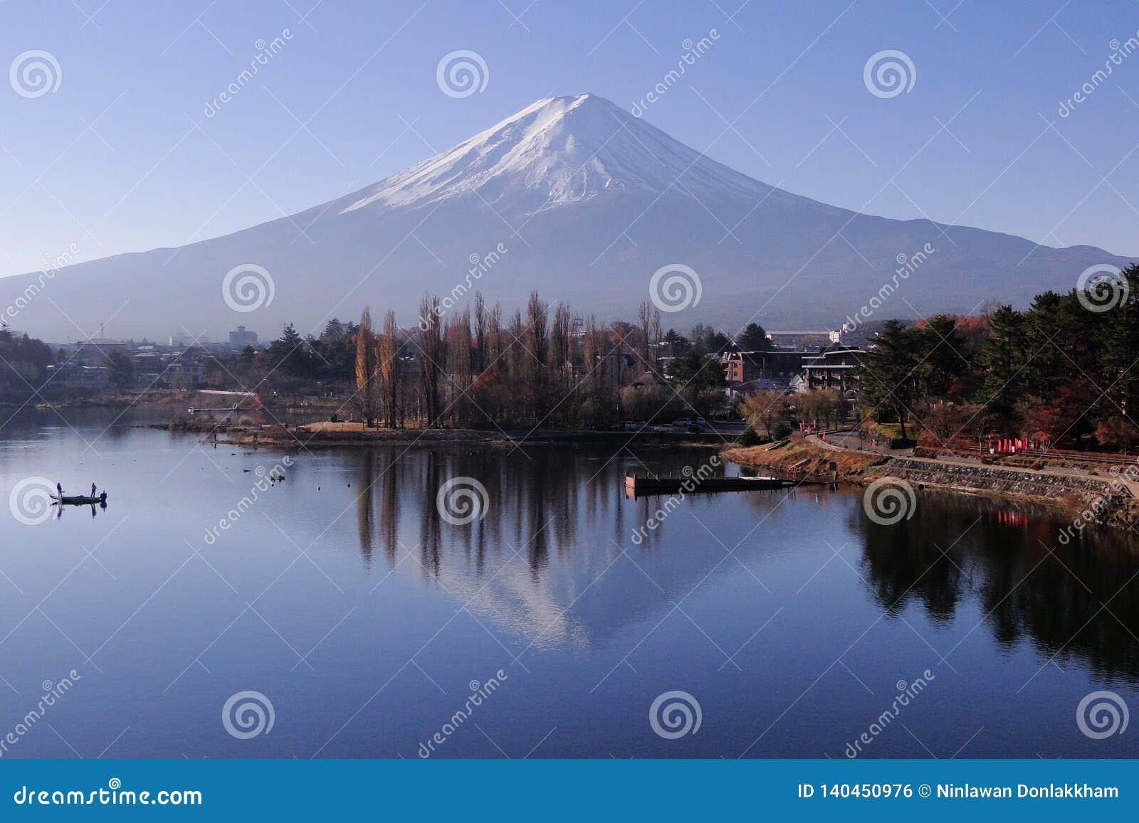 El monte Fuji - un icónico de Japón