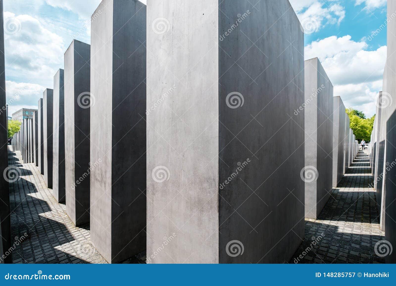 El monumento a los jud?os asesinados a K A Monumento del holocausto en Berl?n