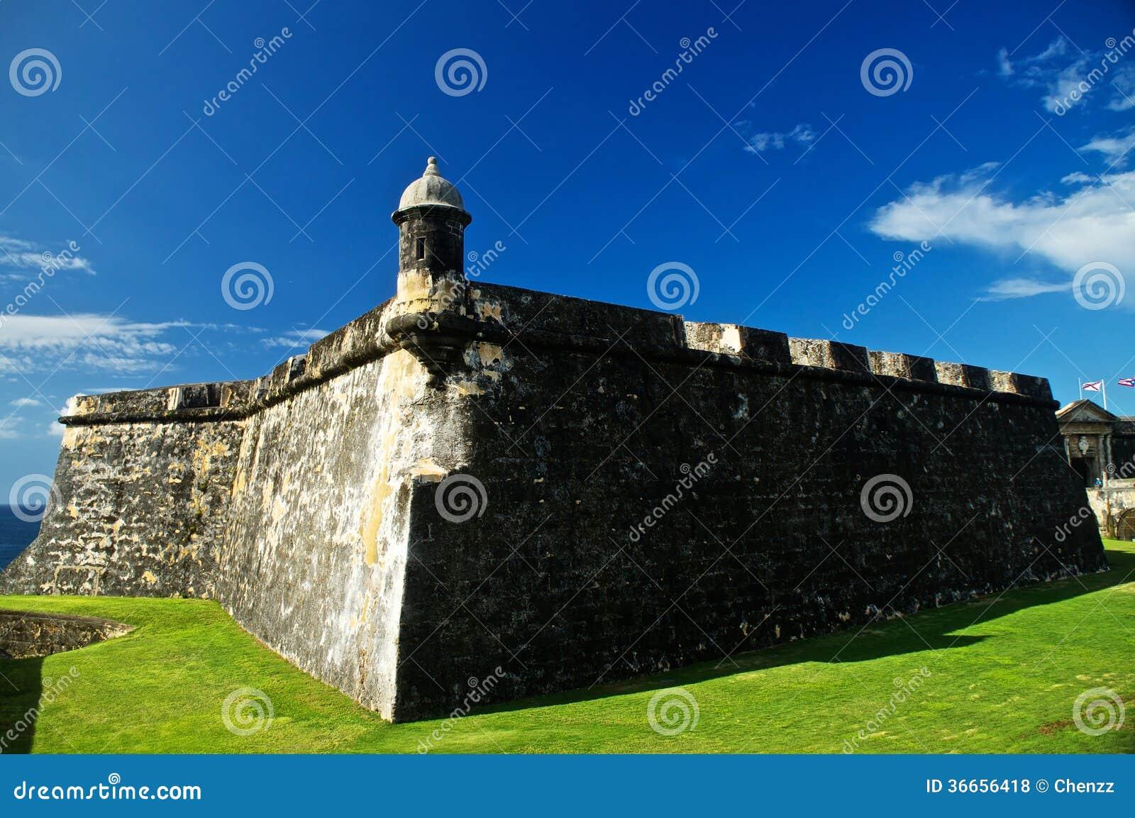 El Morro-Bastion in San Juan