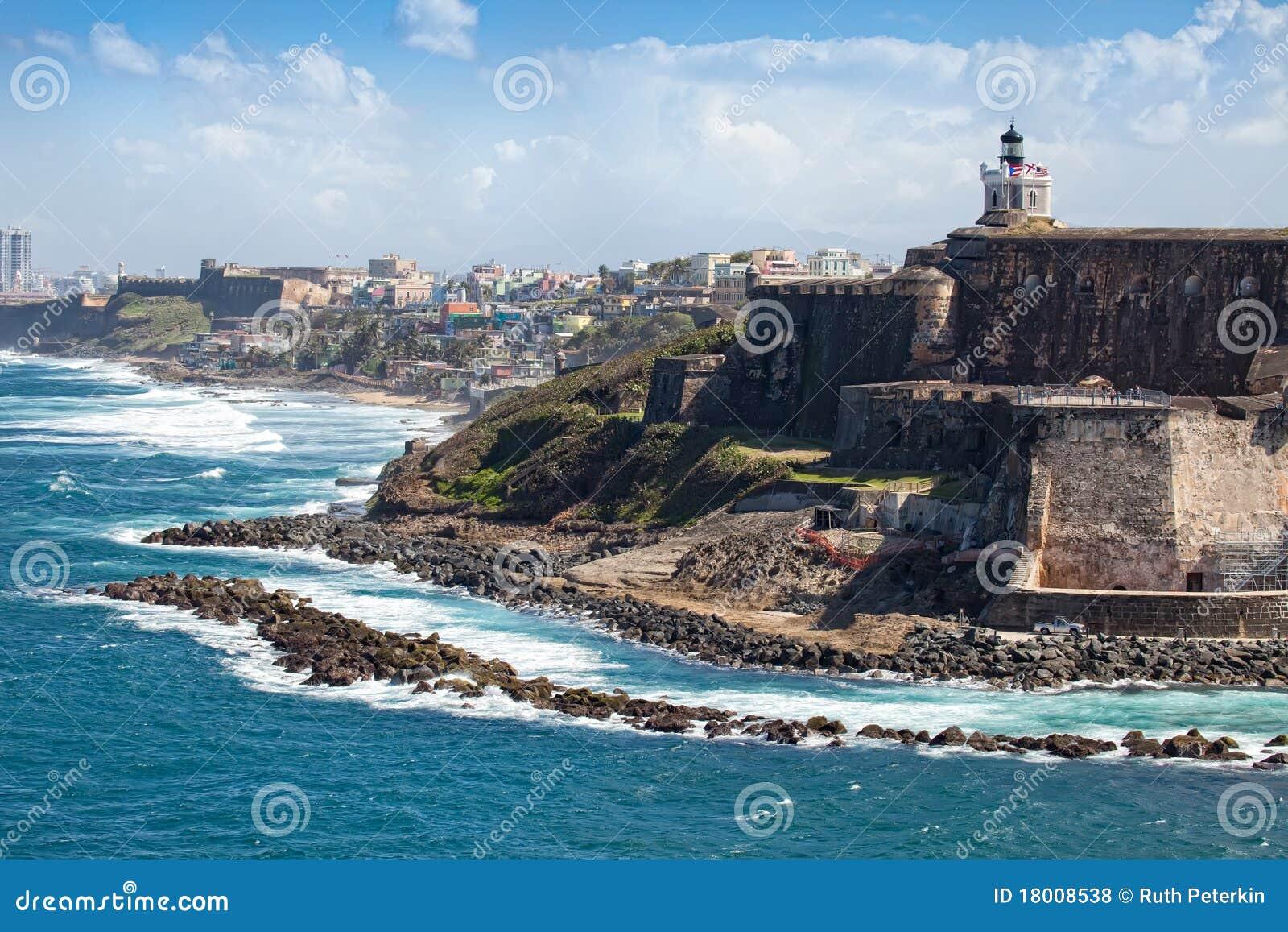 El Morro Castle In Old San Juan Royalty Free Stock Photos - Image ...
