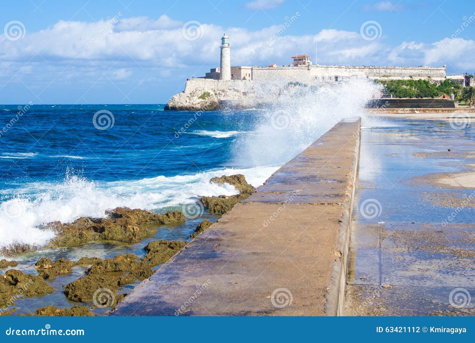 EL morro Schloss in Havana