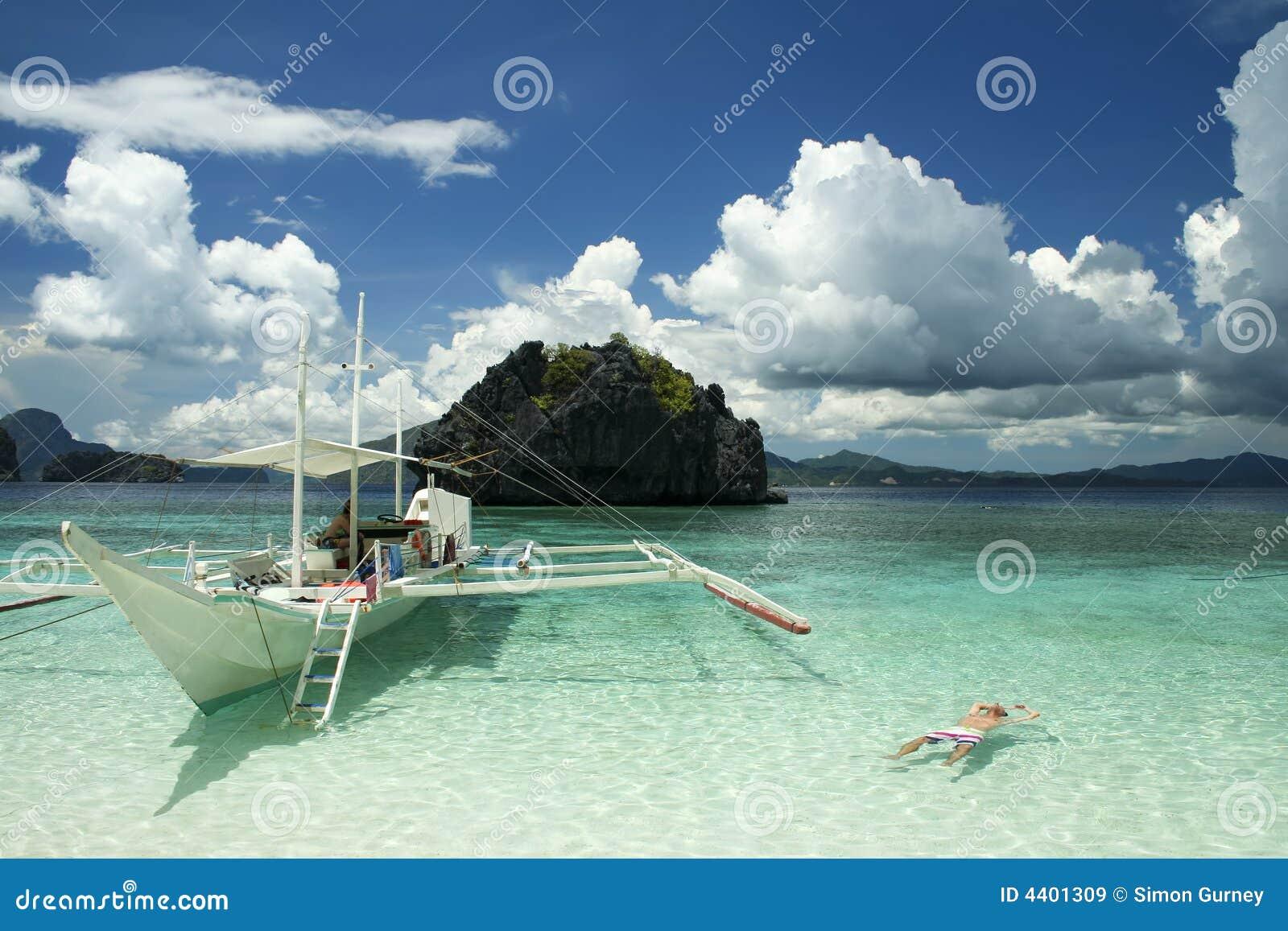 El Nido Boat Trip Palawan Philippines Royalty Free Stock Images ...