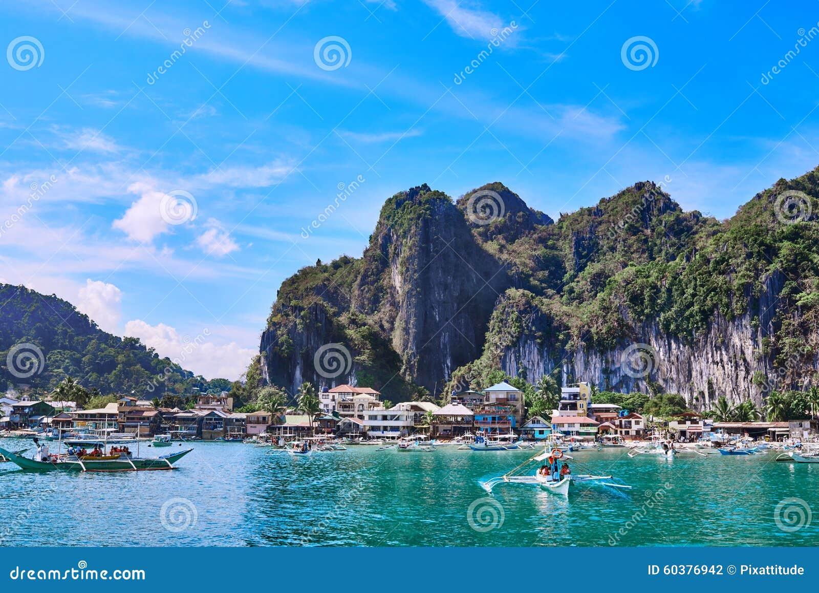 El Nido Palawan Philippines Stock Photo Image 60376942