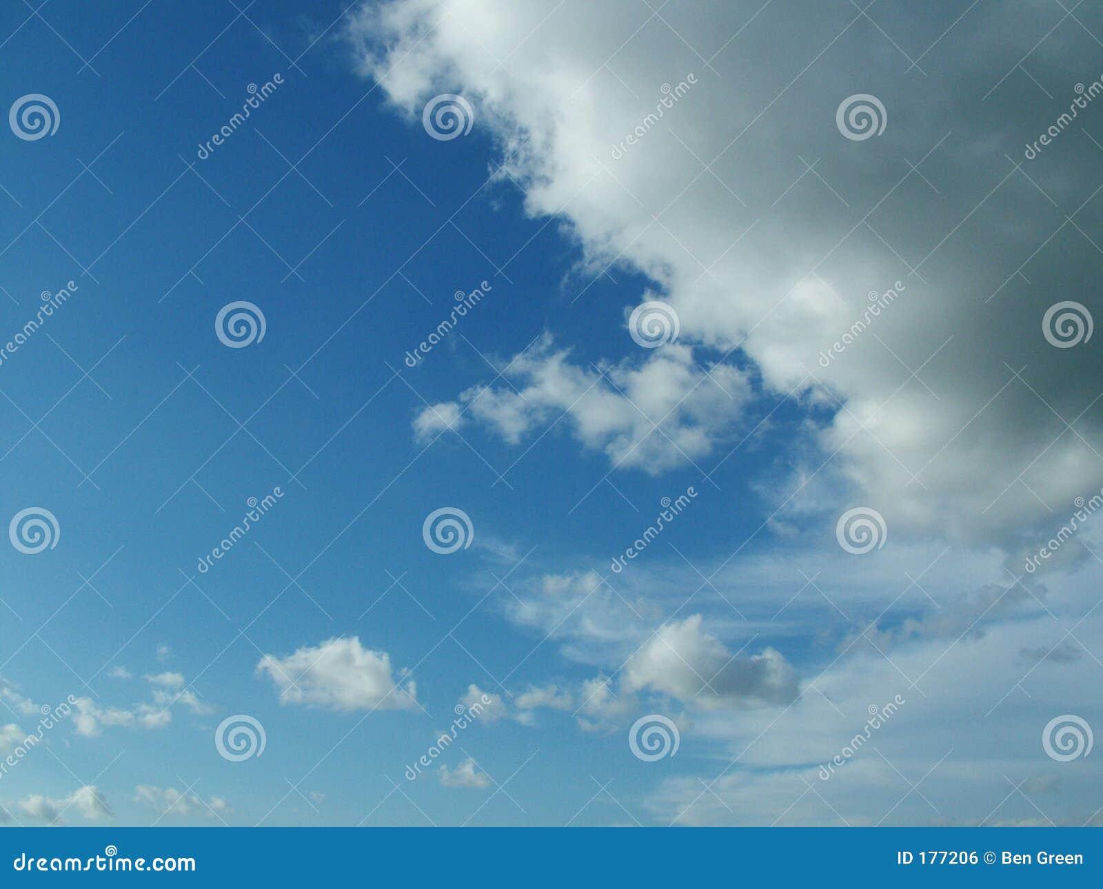 El nublarse encima